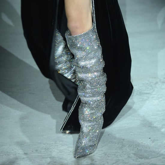 Saint Laurent Sparkly Boots