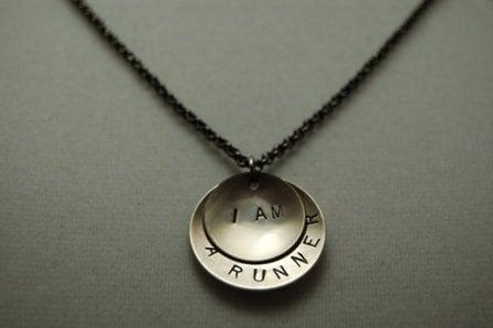 I Am Runner Necklace