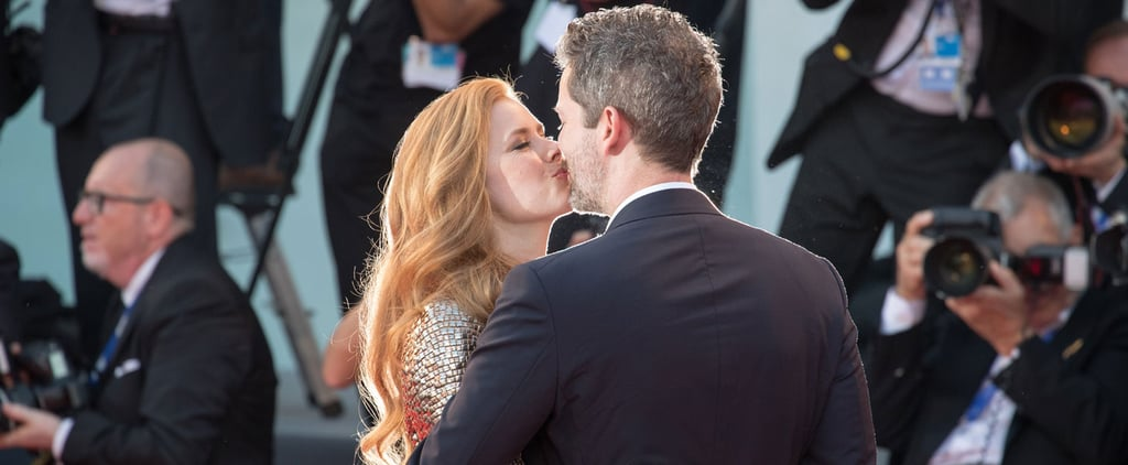 Amy Adams and Her Husband Steal Some Kisses During a Glamorous Red Carpet Event
