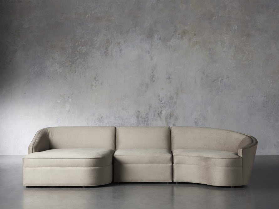 Harper Curved Sectional