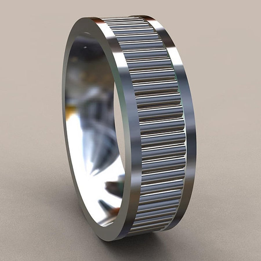 silver web dual handcrafted band bamboo wooden african rings mahogany in thick africa wedding south