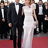 Diane Kruger Is a Vision in White With Joshua Jackson at Cannes