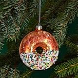 Glass Donut Ornament  ($14)