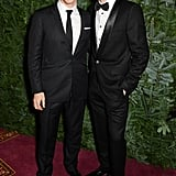 Too much to handle? Benedict Cumberbatch and Tom Hiddleston had us swooning at the London Evening Standard Theatre Awards.