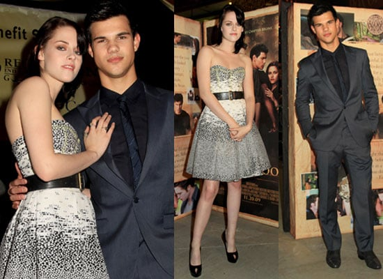 Photos of Kristen Stewart and Taylor Lautner at New Moon Regal Benefit in Tennessee