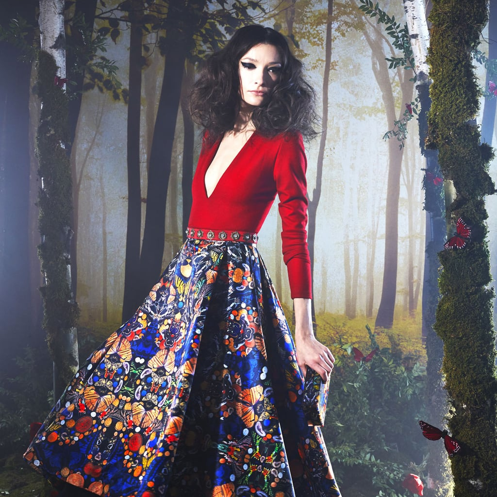Fantasy Is Reality at Alice + Olivia for Autumn/Winter 2014