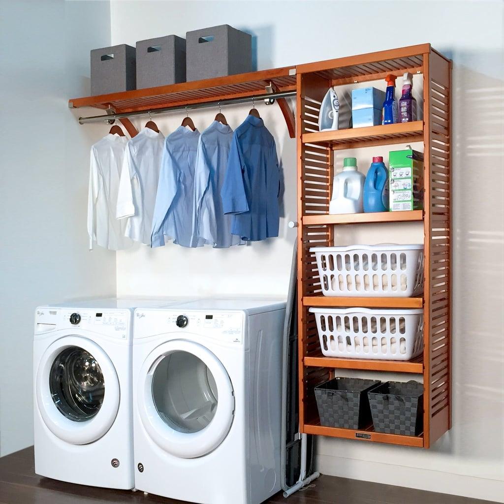 Solid Wood Laundry Room Organizer