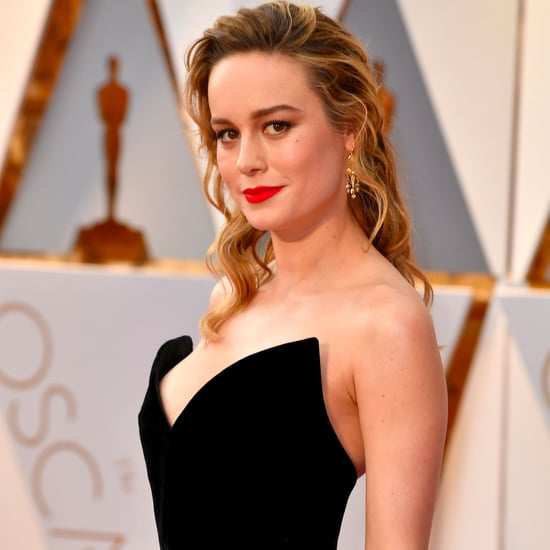 Brie Larson Oscar de la Renta Dress at the Oscars 2017