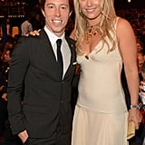 Shaun White and Lindsey Vonn smiled together at the ESPY Awards.