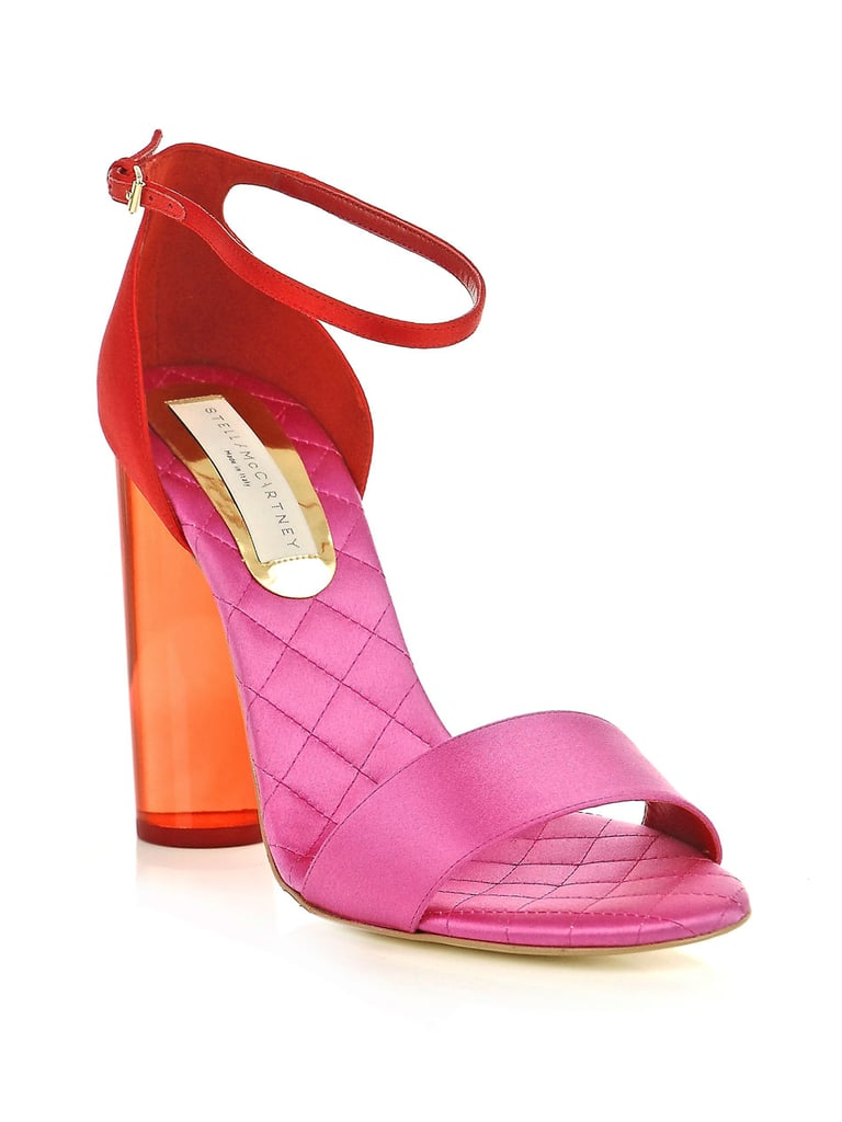 We can't get enough of the combination of pink and red on these Stella McCartney two-toned sandals ($400, originally $803).