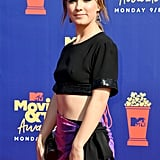 Haley Lu Richardson at the MTV Movie & TV Awards