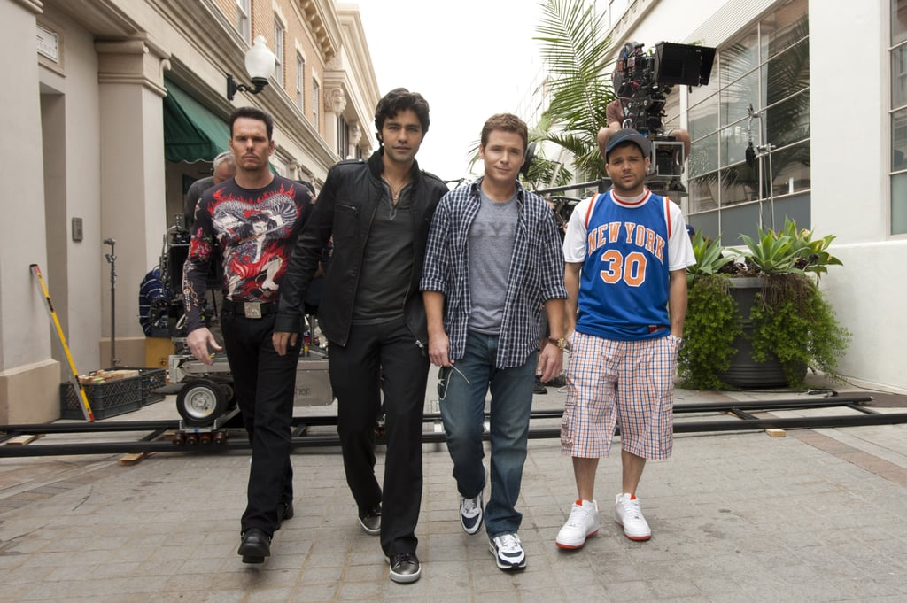 Grab your tissues, Entourage fans, because it's almost time to say goodbye to Vince, E, Turtle, Drama, and Ari. The final season of the HBO comedy kicks off on July 24, picking up where we left off with Vinny's breakdown at the end of season seven. Comedian Andrew Dice Clay is joining the cast as Johnny works on his new animated series, but there's sure to be a lot more surprises in store for the series' last batch of episodes.