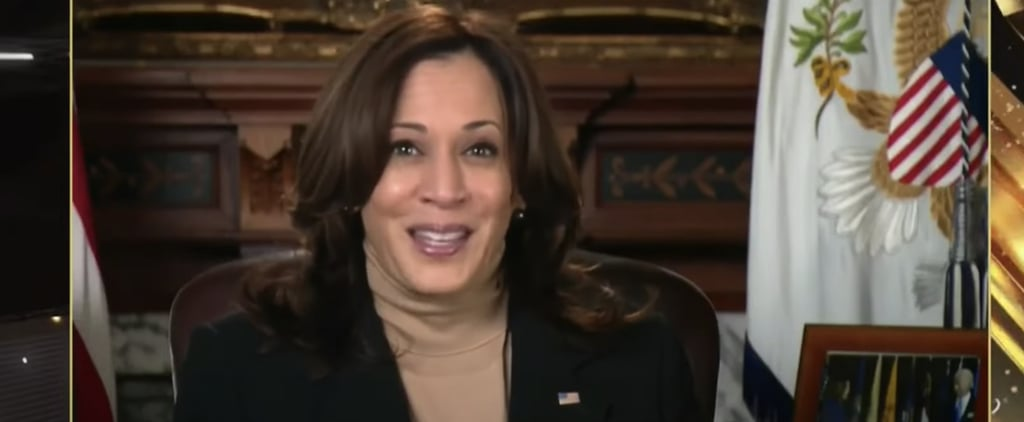 Kamala Harris Makes Appearance at Premio lo Nuestro