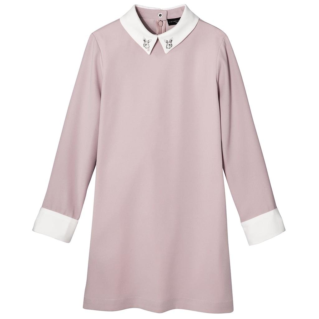 Girls' Blush Collared Dress  ($25)