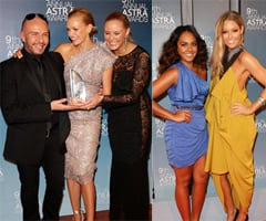 Pictures of Sarah Murdoch, Rove McManus, Charlotte Dawson, Erin McNaught at 2011 Astra Awards