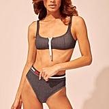 The Montauk Zip Bikini