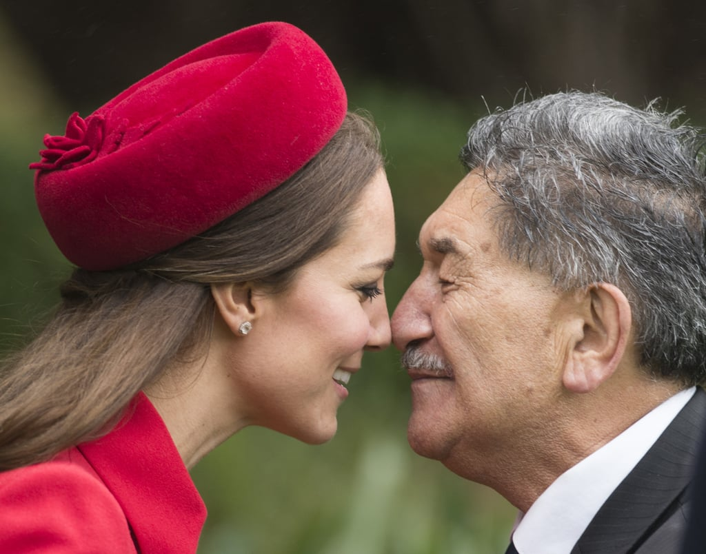 The Duchess of Cambridge's Hongi