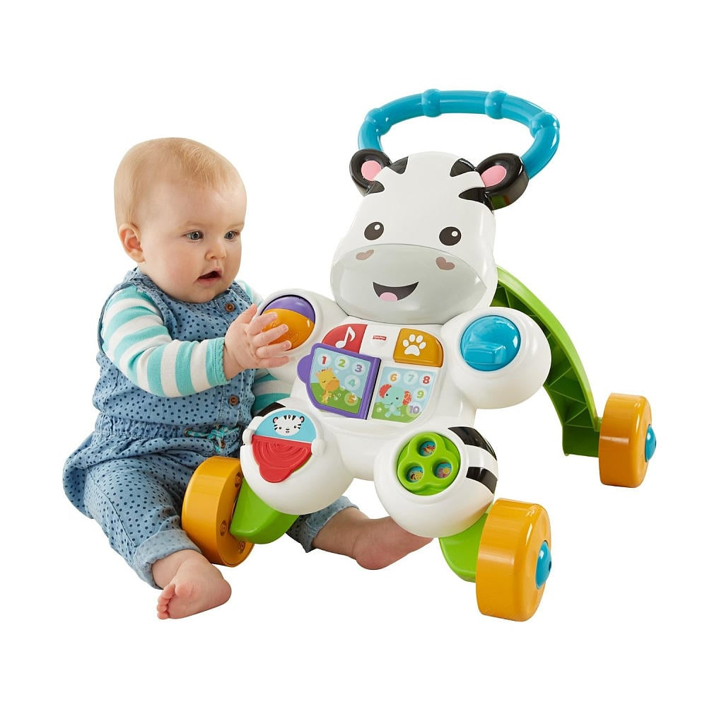 31eebc6d8 Fisher-Price Learn with Me Zebra Walker