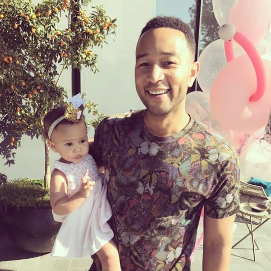 John Legend Describes Love For Daughter Luna