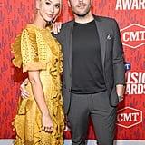 Sabina Gadecki and Tyler Rich