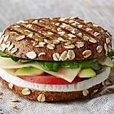 Avocado, Egg White & Spinach Breakfast Power Sandwich