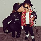 Beyoncé and Blue Ivy Carter as Janet and Michael Jackson