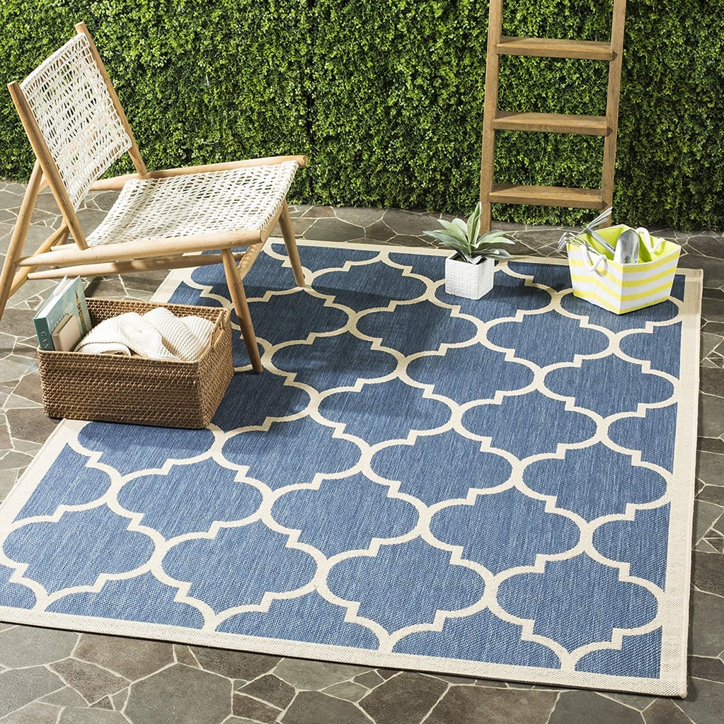 Picture of: Safavieh Courtyard Collection Indoor Outdoor Area Rug Best Cheap Outdoor Rugs Popsugar Home Australia Photo 7
