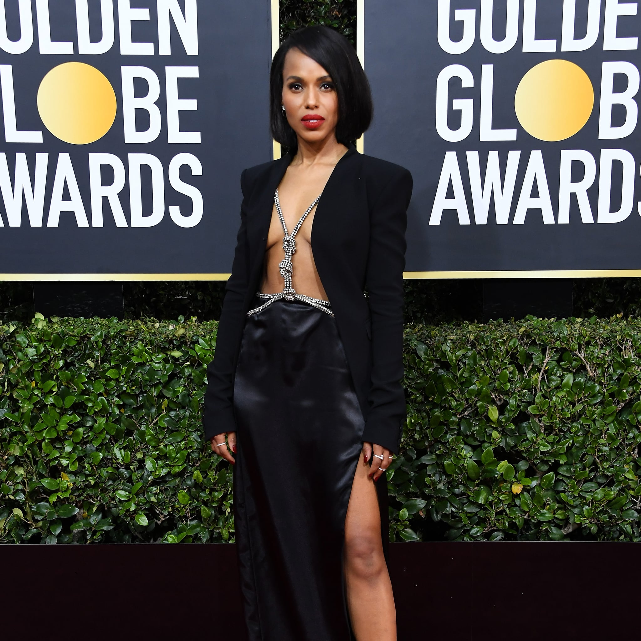 Image result for kerry washington golden globe 2020
