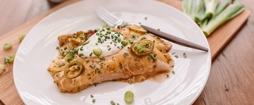 Instant Pot Chicken Enchiladas Recipe With Photos