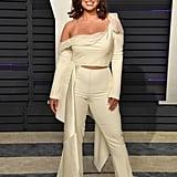 Ashley Graham Vanity Fair Oscar Party Outfit 2019
