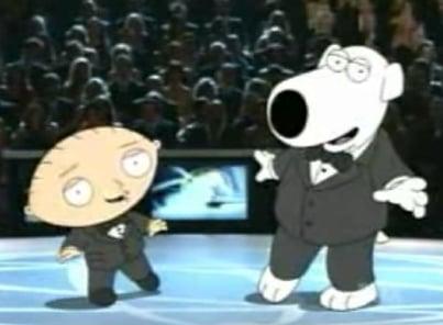 Stewie & Brian On The Emmy's