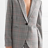 Monse Oversized Embellished Prince of Wales Checked Woven Blazer ($2,660.09)