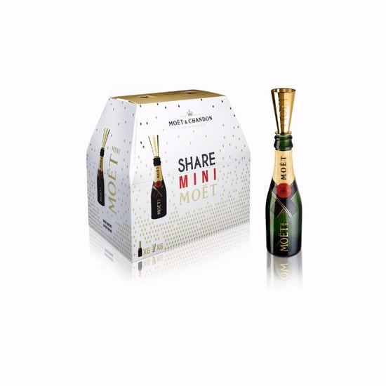 Moet 6-Pack of Mini Champagne Bottles