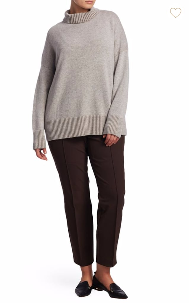 Lafayette 148 New York Plus Size Cashmere Sweater Gigi Hadid