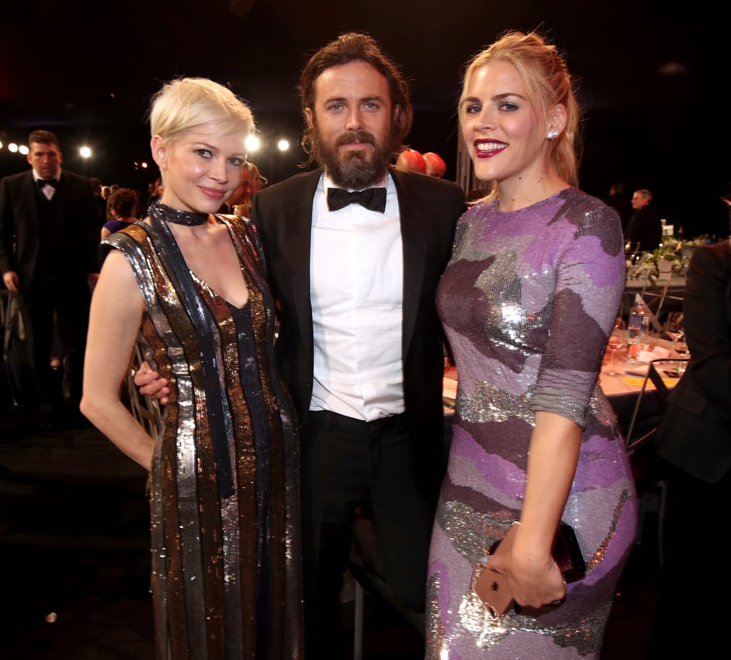 Pictured: Michelle Williams, Busy Philipps, and Casey Affleck
