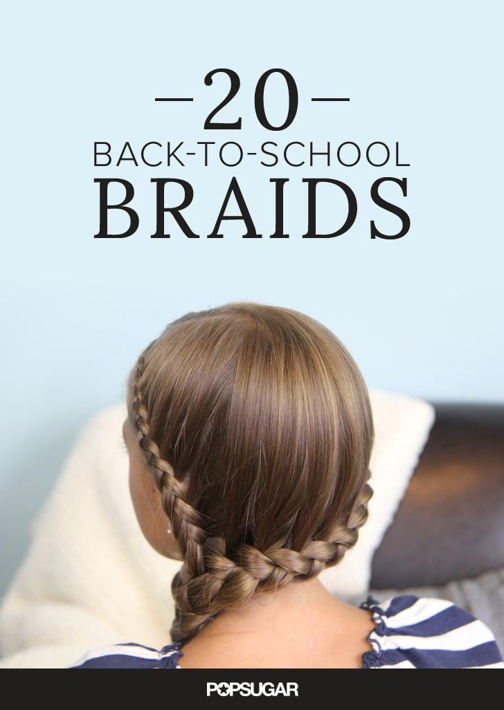 20 Braids to Inspire a School Morning 'Do