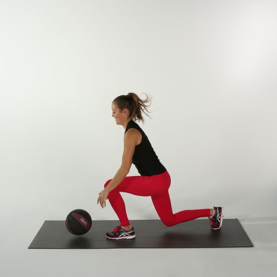 How to Do a Medicine Ball Split Lunge Slam