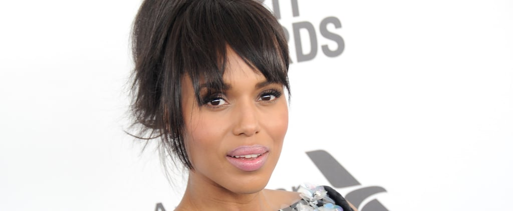 The Powerful Message Behind Kerry Washington's Purple Purse Design