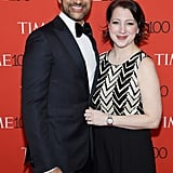 Keegan-Michael Key and Elisa Pugliese.