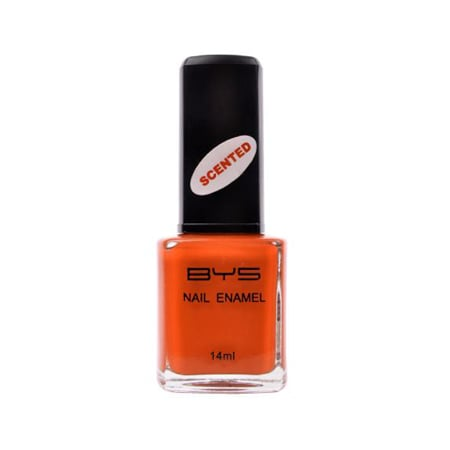 BYS Scented Nail Polish in Bright Orange, $3.95