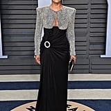 Tracee Wearing the Balmain Dress on the Red Carpet