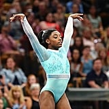 Simone Biles's Teal Leotard Meaning