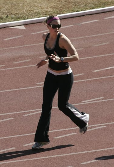 Jessica Biel Hits the Track and so Should YOU!