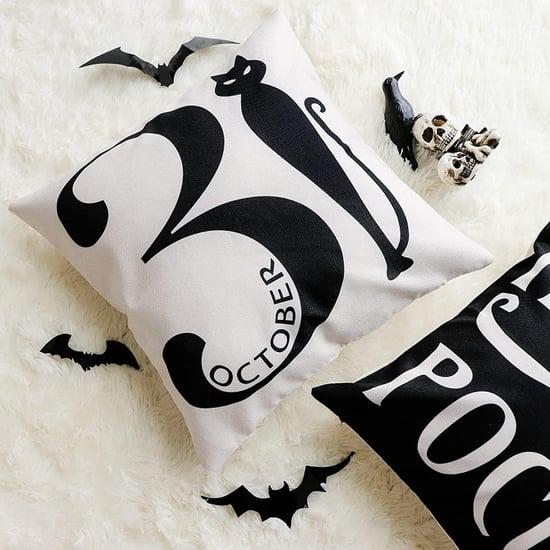 Black-and-White Halloween Decor