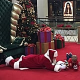 The story behind this Santa getting on the floor to give a boy with special needs the best Christmas ever.