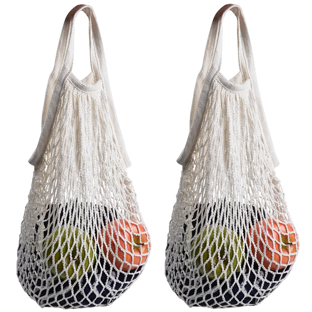 Cosmos Cotton Net Shopping Tote