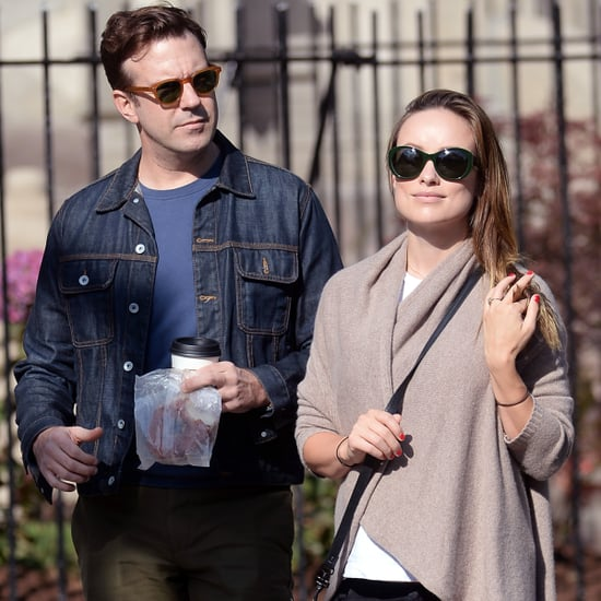 Olivia Wilde and Jason Sudeikis Out in NYC October 2016