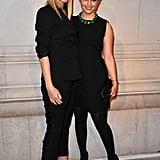 Gwyneth Paltrow and Dianna Agron celebrate the opening of Marc Jacob's Louis Vuitton Exhibit in Paris.
