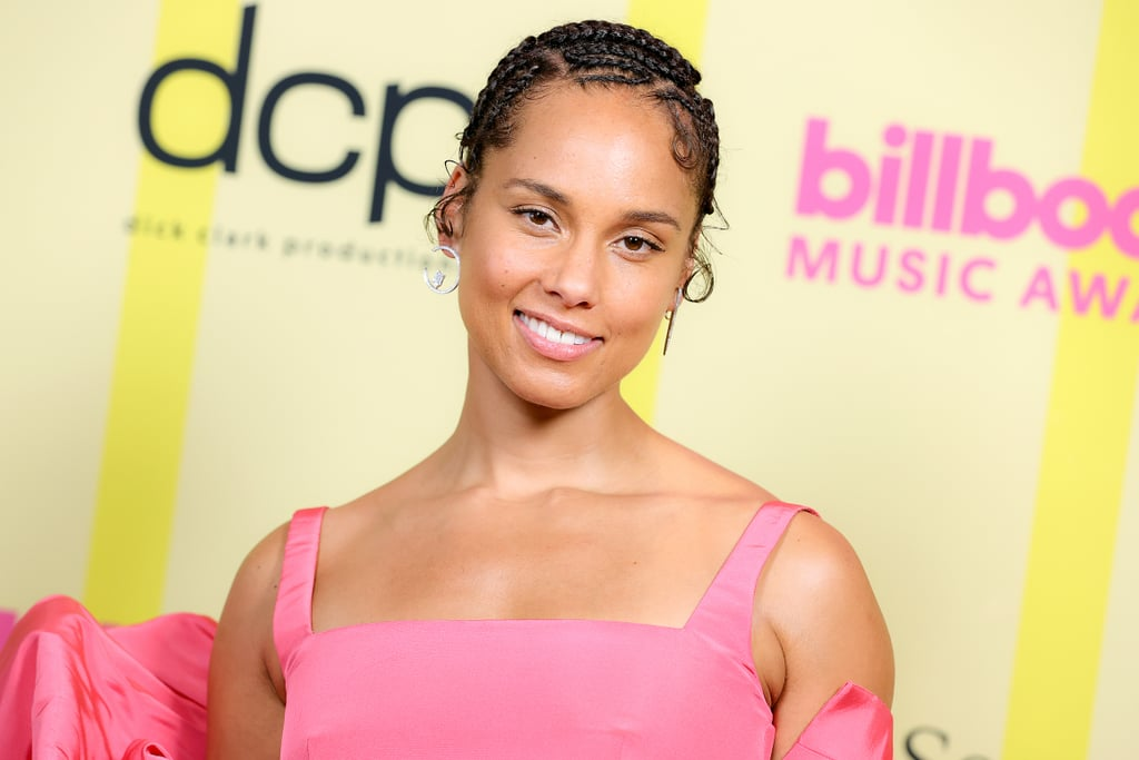 Alicia Keys's Hairstyle at the 2021 Billboard Music Awards