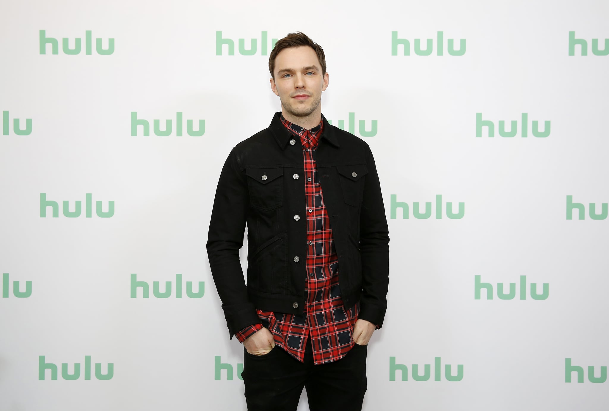 PASADENA, CALIFORNIA - JANUARY 17: Nicholas Hoult attends the Hulu Panel at Winter TCA 2020 at The Langham Huntington, Pasadena on January 17, 2020 in Pasadena, California. (Photo by Rachel Murray/Getty Images for Hulu)